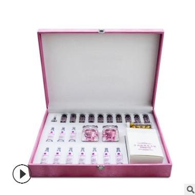 胸部护理植物乳霜套盒胸部保养紧实乳腺疏通美容院身体套盒oem