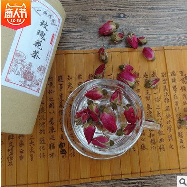 平阴玫瑰花茶玫瑰 散装花茶玫瑰花茶养生保健茶罐装批发代加工