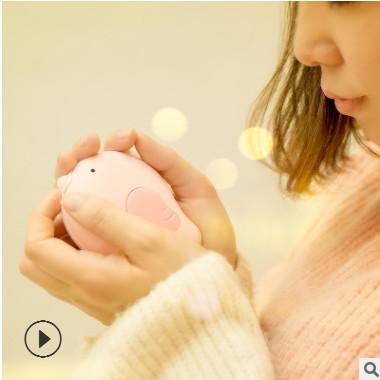 创意新款暖心鸟暖手宝迷你USB充电电暖宝卡通小鸟电热宝移动电源