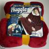 厂家直销懒人套头电视毯户外防寒衣 huggle hoodie连帽抓绒保暖衣
