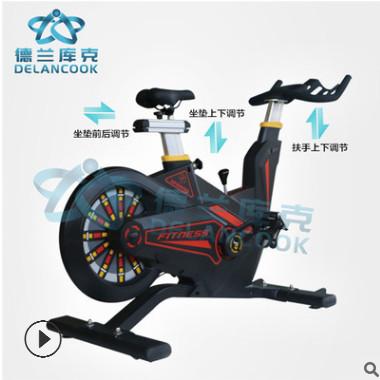 山东厂家直销商用PVC防滑的织带健身车竞赛 磁控动感单车