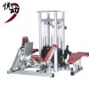 商用多功能一体化大腿训练器 四人站 部队健身房设备厂家一件代发