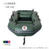厂家直销破浪加厚3人条板底夹网船充气钓鱼船漂流橡皮艇IBP230