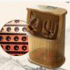 钜柏频谱养生足疗桶足浴桶汗蒸桶汗蒸箱泡脚木桶天然木材防霉抗菌