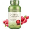 GNC蔓越莓精华胶囊美容胶囊天然植物萃取调节内分泌100粒瓶装