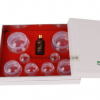厂家批发绿岛拔罐 热销国际硅胶拔罐器 吸力强的拔罐