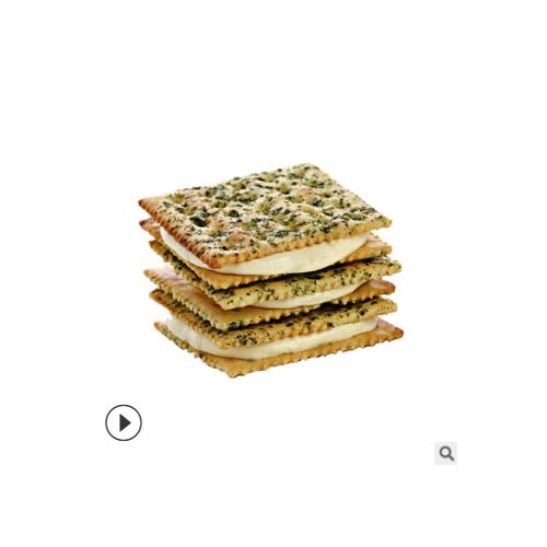 芭米牛轧饼干台湾风味手工夹心糕点零食 夹心饼干喜糖奶盐味148g