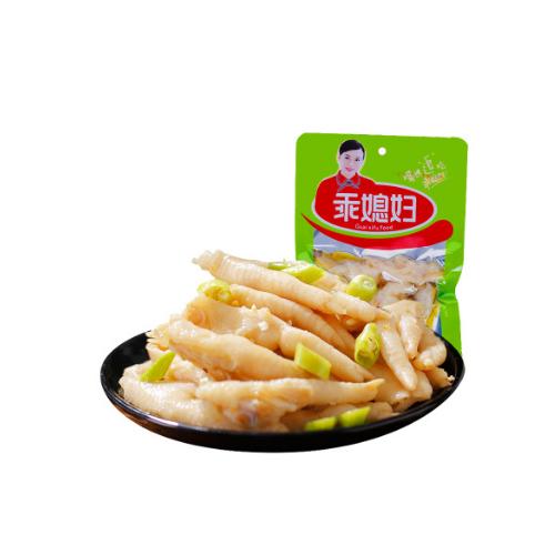 正宗重庆特产乖媳妇泡椒凤爪70g 野山椒泡鸡爪类零食 厂价批发