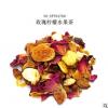 SFT04760 玫瑰柠檬水果茶 德国进口花果茶 玫瑰橙子风味 500g