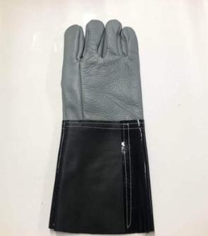 劳保手套加长加厚牛皮手套