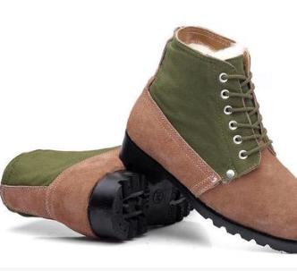 棉鞋防砸防刺穿冬季劳反毛皮保鞋高帮防滑安全鞋