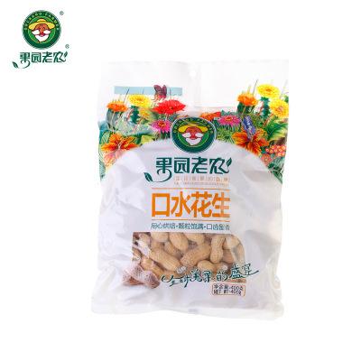 400g果园老农口水花生厂家直销 袋装休闲零食特产坚果炒货
