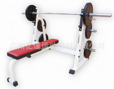 厂家直销平卧推举训练架 平板卧推架 水平推举训练器 健身器材