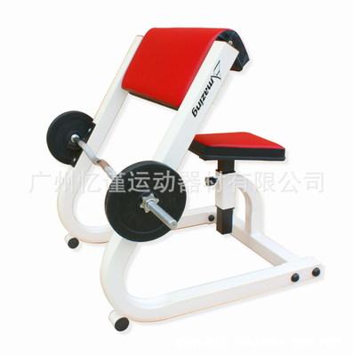 二头肌训练器 室内力量健康器材 腹背肌健身器材架 广州厂家