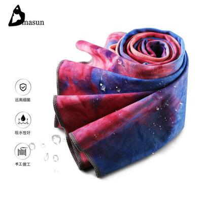 【迪玛森】扎染瑜伽铺巾防滑瑜珈垫铺巾毯健身垫毯子瑜伽垫巾