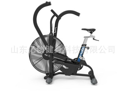 风扇车风阻室内运动健身车商用动感单车椭圆车健身器材厂家促销